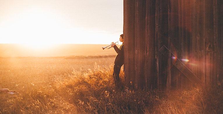 blow your trumpet